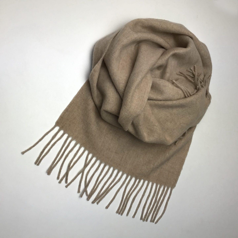 scarf flower cream