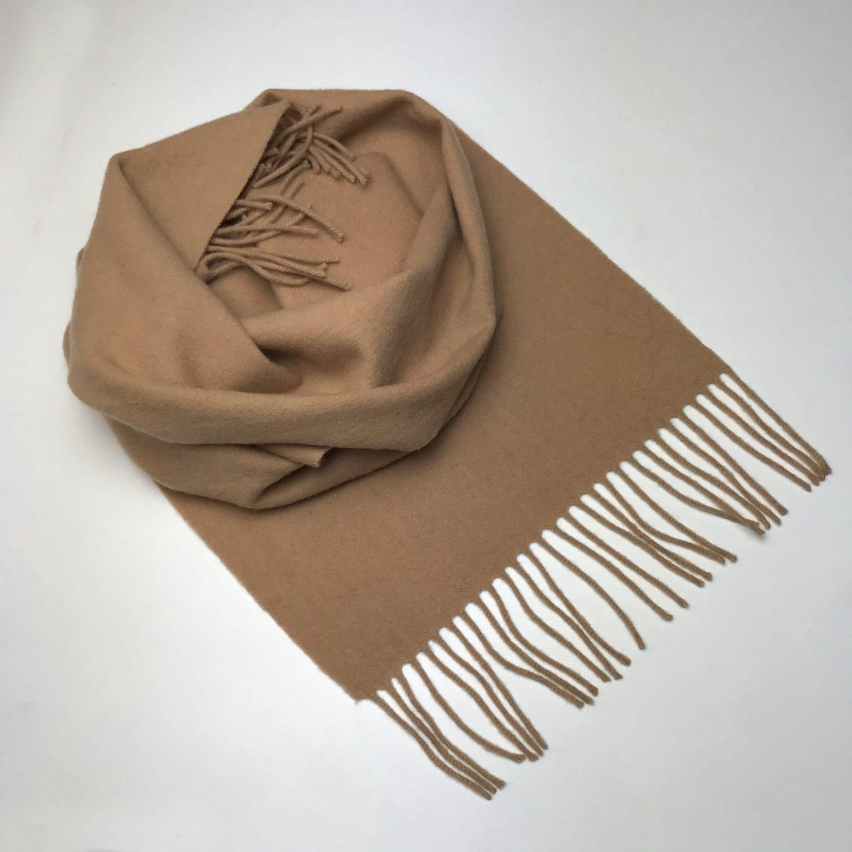 scarf flower camel