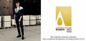 design award aukso laimetojas -lekeckas